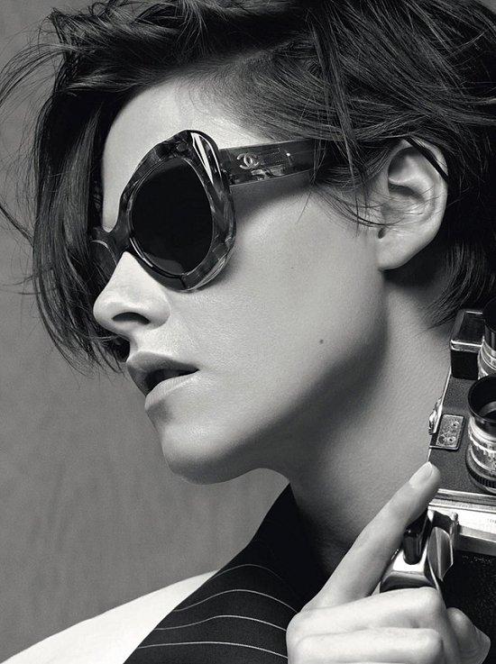 Кристен Стюарт в рекламе очков Chanel весна-лето 2015 фото №3