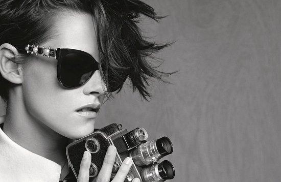 Кристен Стюарт в рекламе очков Chanel весна-лето 2015 фото №5