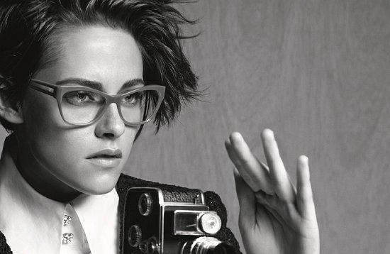 Кристен Стюарт в рекламе очков Chanel весна-лето 2015 фото №6