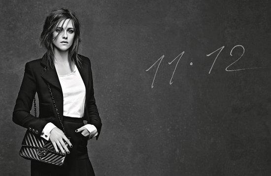 Кристен Стюарт, Ванесса Паради и Элис Деллал в рекламе сумок Chanel фото №1
