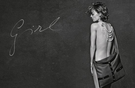 Кристен Стюарт, Ванесса Паради и Элис Деллал в рекламе сумок Chanel фото №3