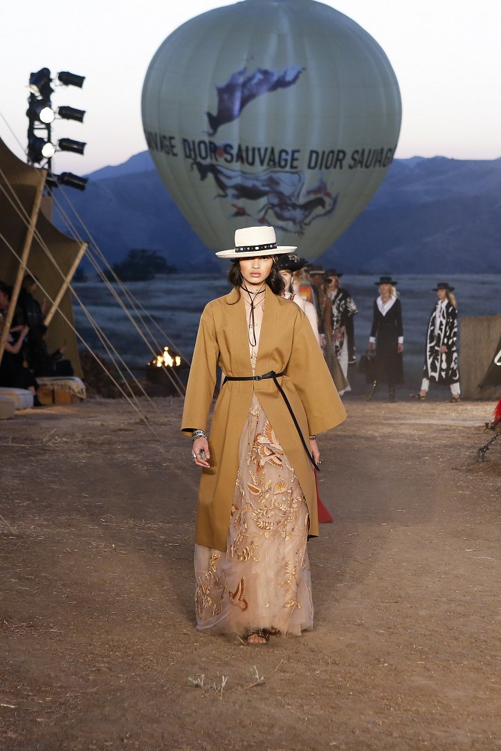 Круизная коллекция Christian Dior resort 2018 фото №85