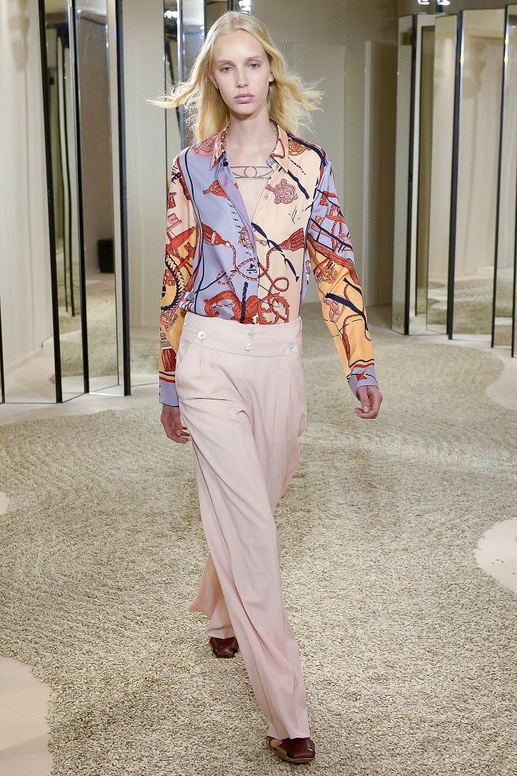 Круизная коллекция Hermès resort 2018 фото №29
