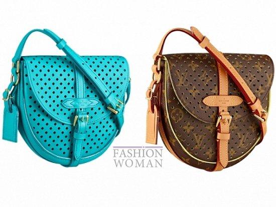 Аксессуары Louis Vuitton весна-лето 2012