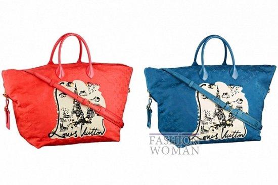 Круизная коллекция сумок Louis Vuitton весна-лето 2012.