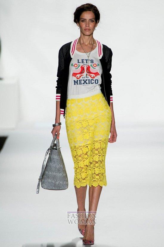 Кружевные юбки 2014. С чем носить? фото №1