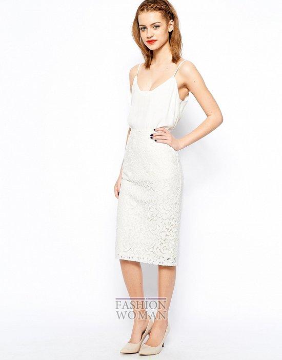 Кружевные юбки 2014. С чем носить? фото №4