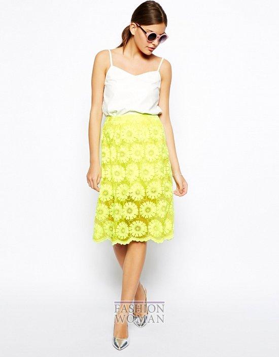 Кружевные юбки 2014. С чем носить? фото №19