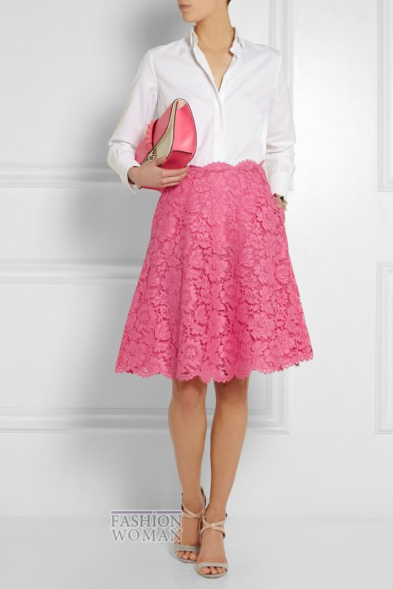 Кружевные юбки 2014. С чем носить? фото №30
