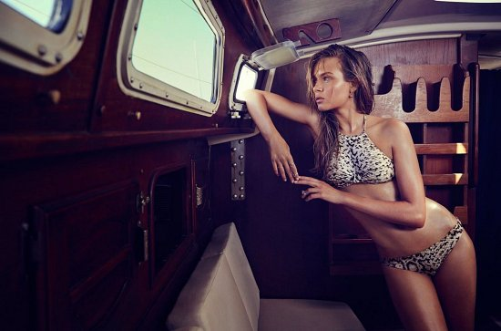 Купальники и пляжная одежда Zimmermann лето 2015 фото №2