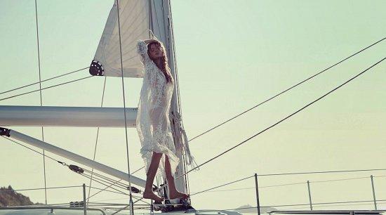 пляжная одежда Zimmermann лето 2015