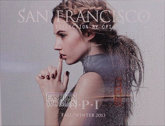 Лаки для ногтей OPI осень-зима 2013-2014 фото №5