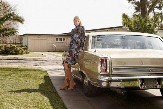 Лара Стоун в рекламной кампании H фото №3