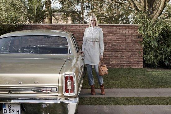 Лара Стоун в рекламной кампании H фото №5
