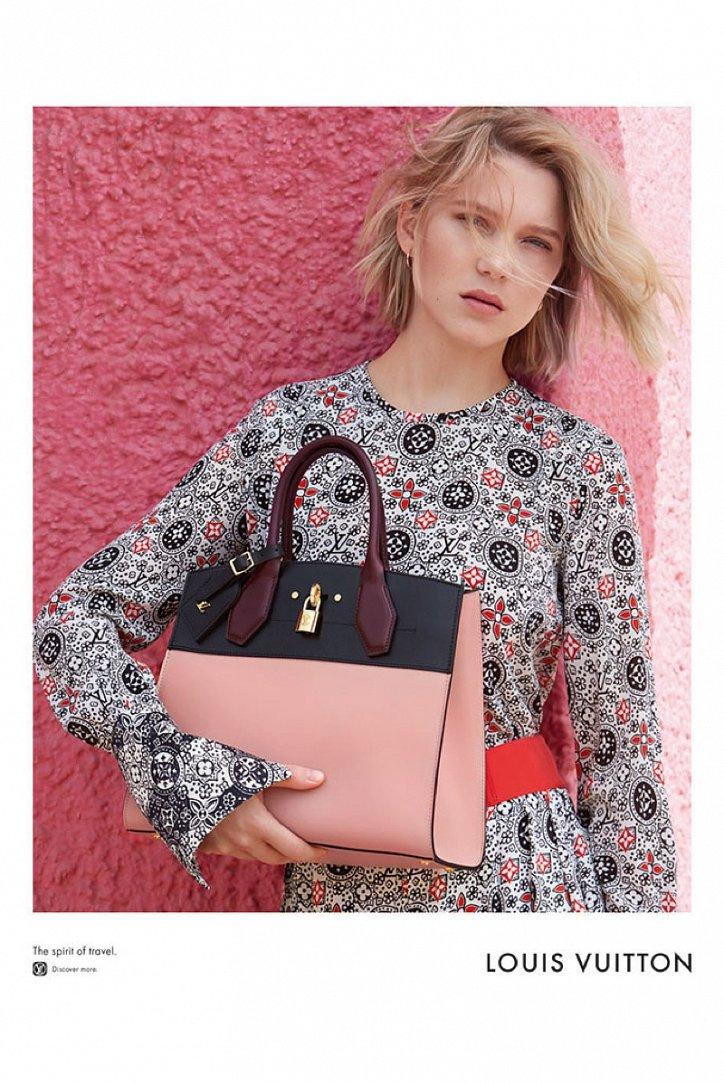 Леа Сейду в рекламе Louis Vuitton Spirit of Travel фото №2