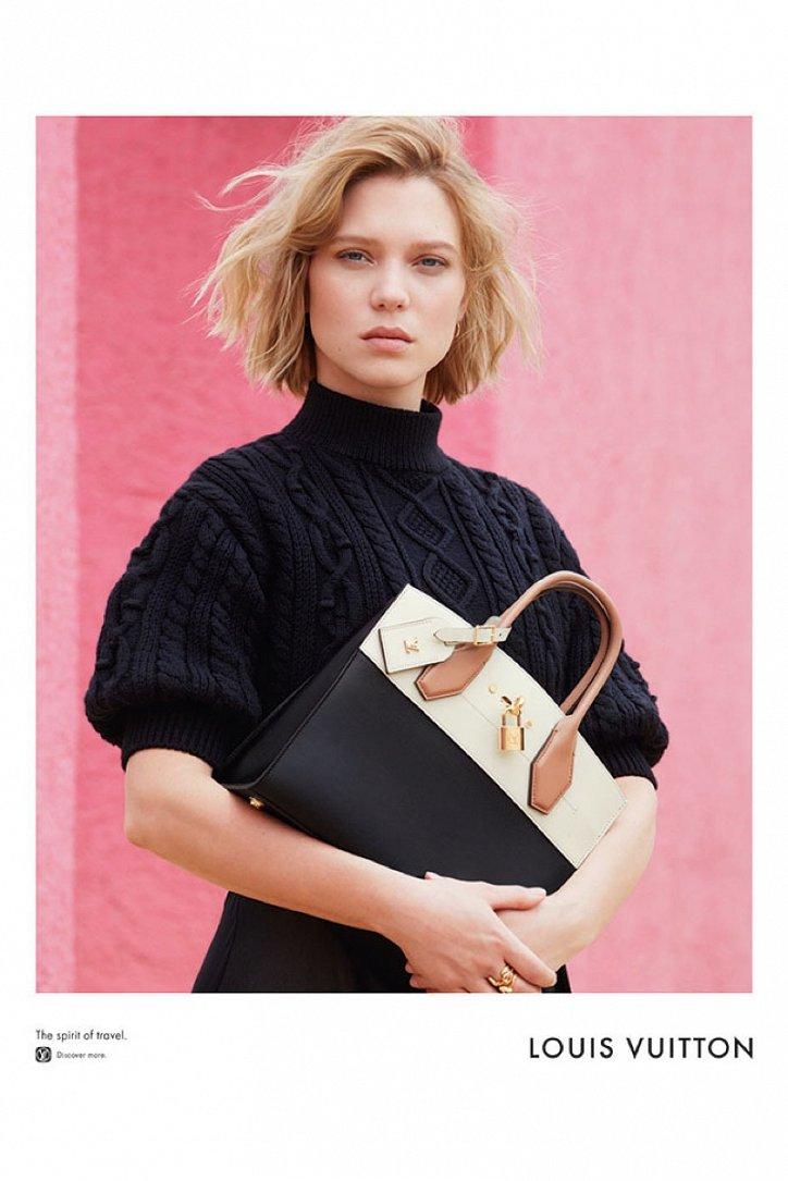 Леа Сейду в рекламе Louis Vuitton Spirit of Travel фото №3