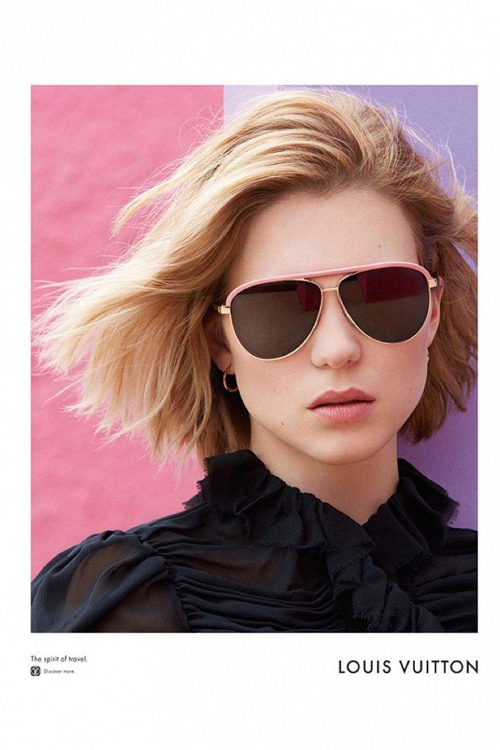 Леа Сейду в рекламе Louis Vuitton Spirit of Travel фото №4