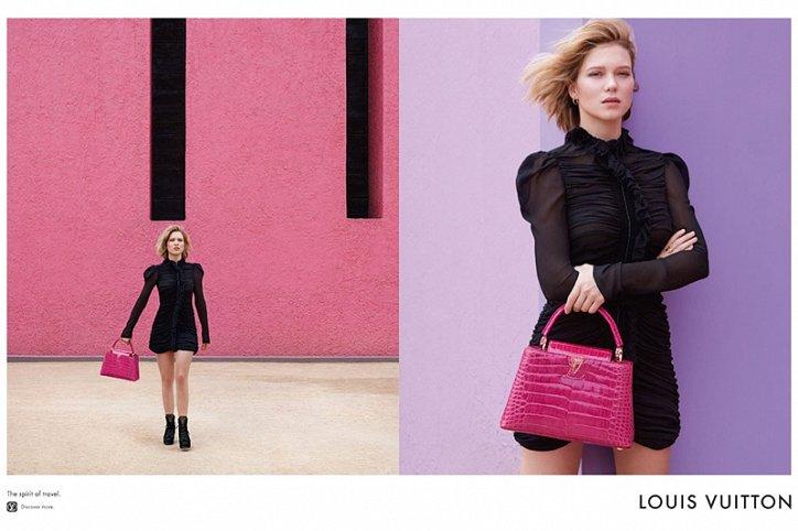 Леа Сейду в рекламе Louis Vuitton Spirit of Travel фото №7
