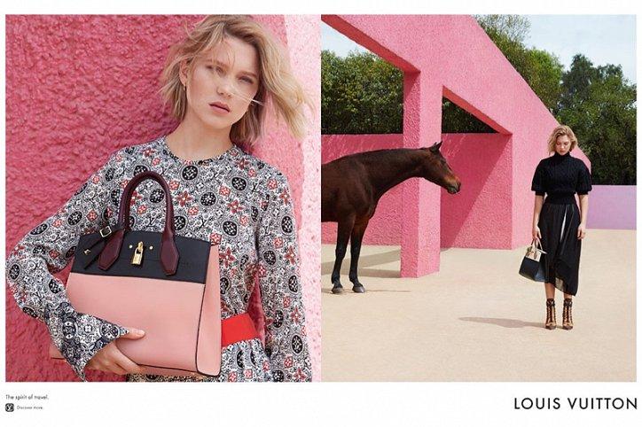 Леа Сейду в рекламе Louis Vuitton Spirit of Travel фото №8