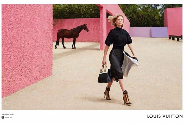 Леа Сейду в рекламе Louis Vuitton Spirit of Travel фото №9
