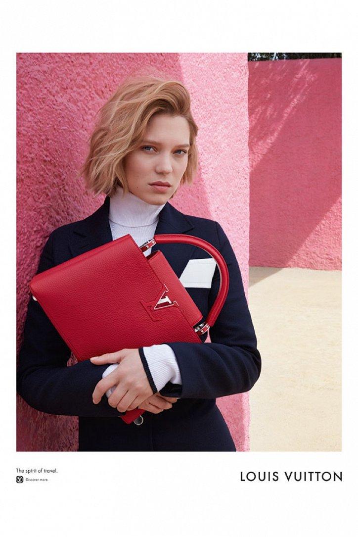 Леа Сейду в рекламе Louis Vuitton Spirit of Travel фото №5