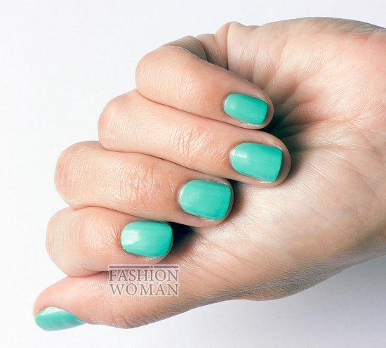 Летнее настроение с лаком для ногтей essence 29 mint  фото №4
