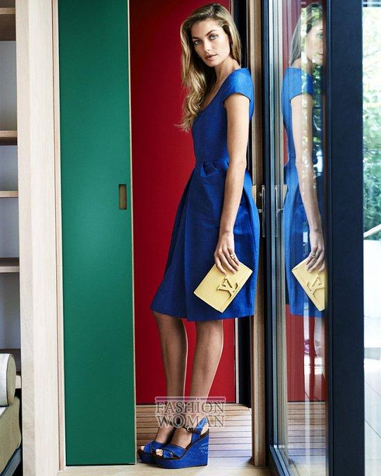 лукбук Louis Vuitton лето 2014