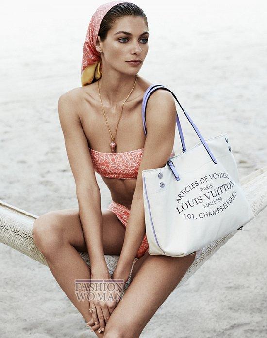 аксессуары лукбук Louis Vuitton лето 2014