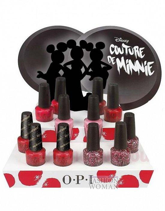 Летняя коллекция лаков для ногтей OPI Couture de Minnie