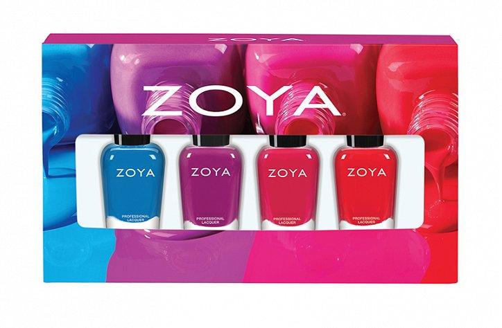 Летняя коллекция лаков для ногтей Zoya Seashells  фото №3