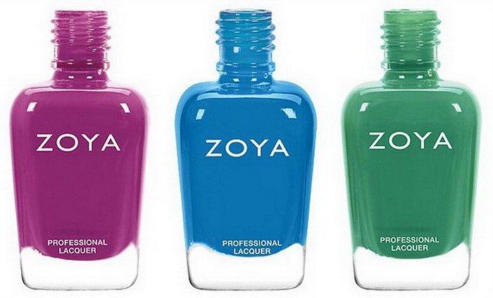 Летняя коллекция лаков для ногтей Zoya Seashells  фото №2