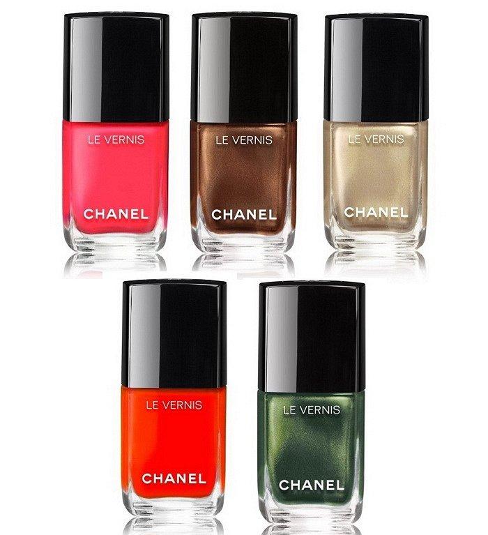 Летняя коллекция макияжа Chanel Dans La Lumiere de L'Ete фото №7
