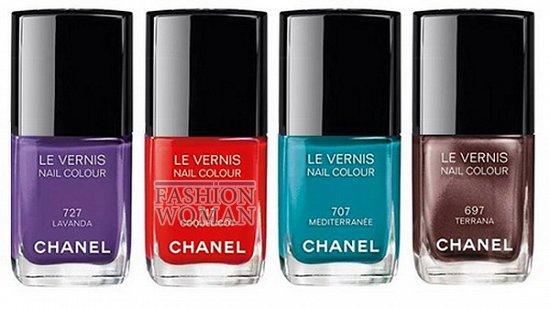 Летняя коллекция макияжа Chanel Méditerranée фото №9