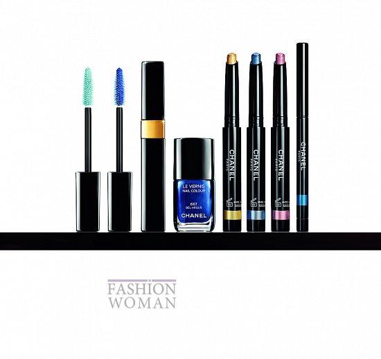 Летняя коллекция макияжа Chanel фото №13