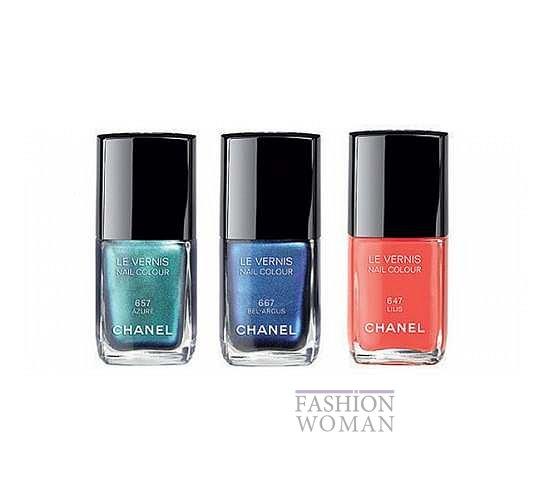 Летняя коллекция макияжа Chanel фото №7