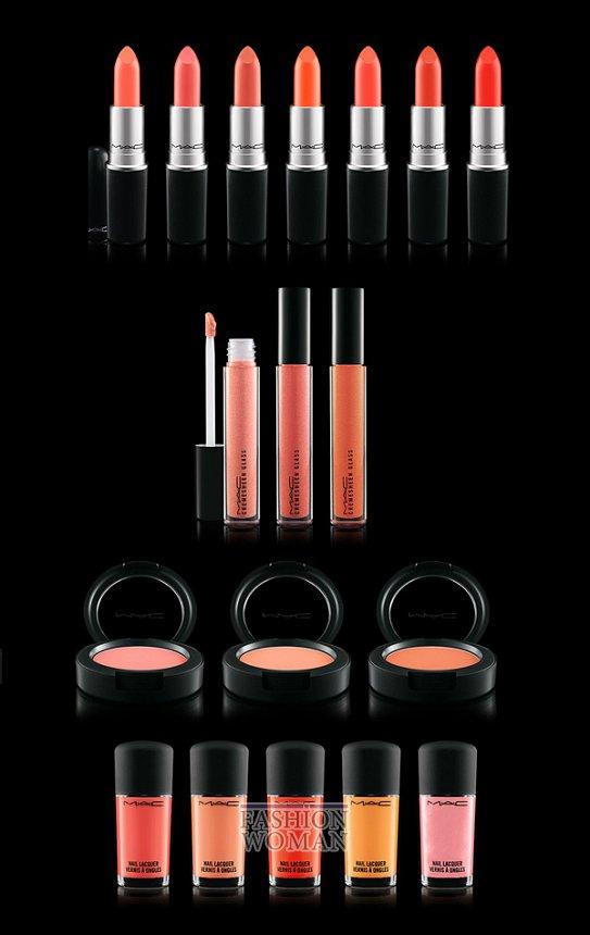 Летняя коллекция макияжа MAC