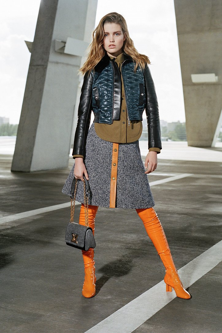 Louis Vuitton Pre-Fall 2017 фото №5