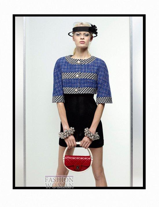Лукбук Chanel весна 2013 фото №7