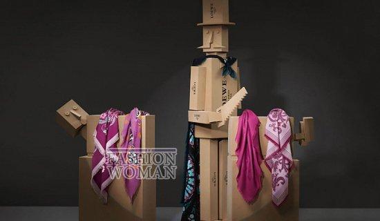 Лукбук коллекции аксессуаров Loewe Holiday 2011-2012 фото №12