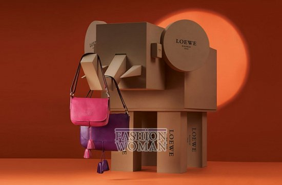 Лукбук коллекции аксессуаров Loewe Holiday 2011-2012 фото №14
