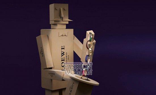 Лукбук коллекции аксессуаров Loewe Holiday 2011-2012 фото №17