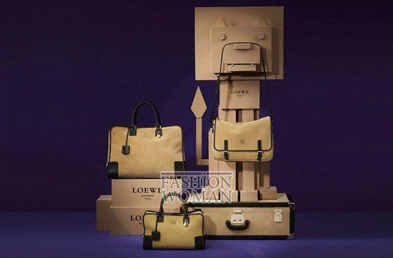 Лукбук коллекции аксессуаров Loewe Holiday 2011-2012 фото №18
