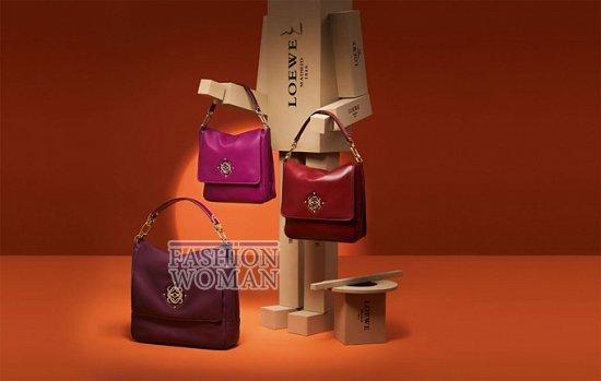 Лукбук коллекции аксессуаров Loewe Holiday 2011-2012 фото №3