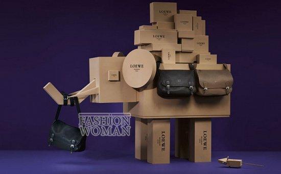 Лукбук коллекции аксессуаров Loewe Holiday 2011-2012 фото №20
