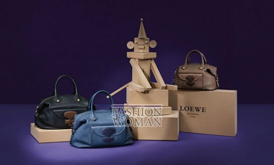 Лукбук коллекции аксессуаров Loewe Holiday 2011-2012 фото №4