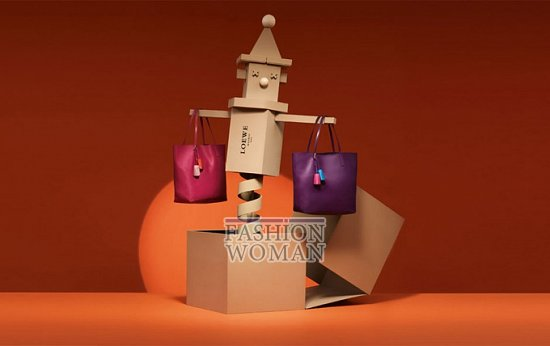 Лукбук коллекции аксессуаров Loewe Holiday 2011-2012 фото №5