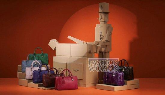 Лукбук коллекции аксессуаров Loewe Holiday 2011-2012 фото №8