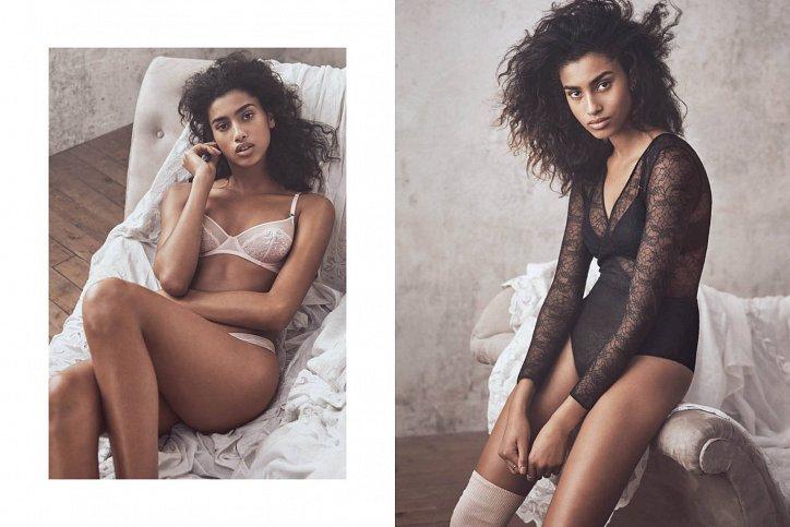 Лукбук нижнего белья H&M осень 2016