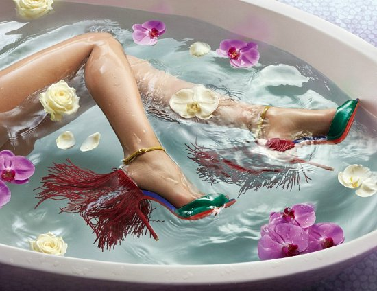 Лукбук обуви Christian Louboutin весна-лето 2015 фото №2