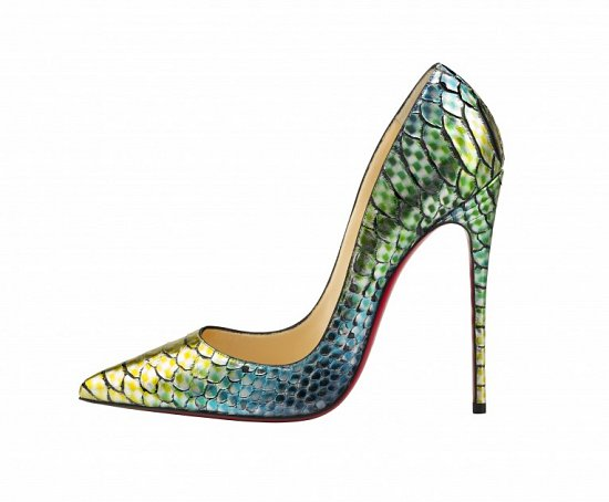Лукбук обуви Christian Louboutin весна-лето 2015 фото №32